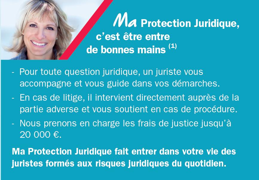 Protection juridique AXA conseil et garanties