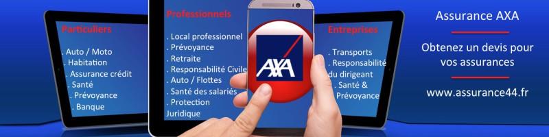 Agence AXA Nantes Saint nazaire auto, habitation moto, sante, PNO, Banque