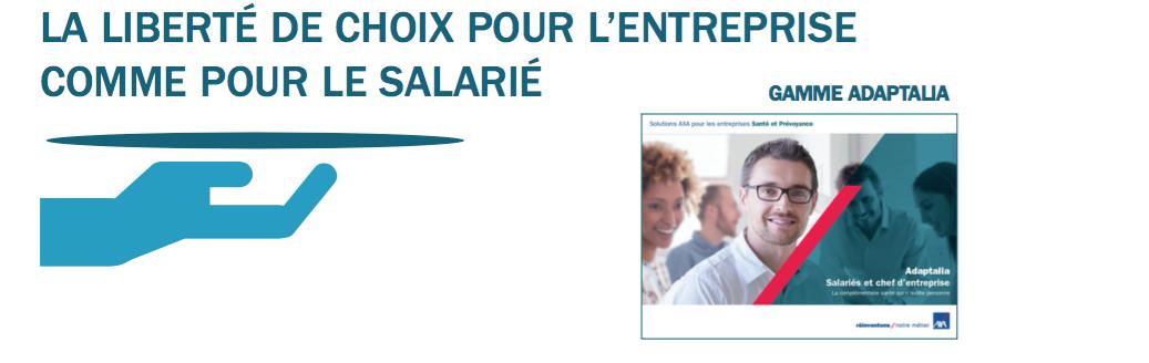 la solution AXA mutuelle santé salariés obligatoire